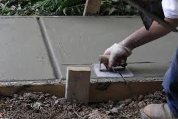 járda betonozás